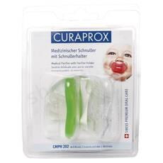 Набір ортодонтических сосок від 8 місяців (2шт) Curaprox