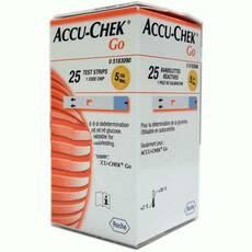 Тест-полоски Accu - chek Go Glucose, 25 шт.