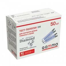 Тест-полоски Gamma DM, 50 шт.