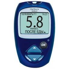 Глюкометр One Touch Select® с 25 тест-полосками