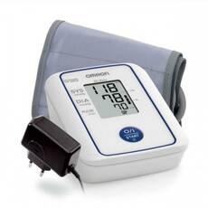 Автоматичний тонометр Omron M2 BASIC HR зі збільшеною манжетою і адаптером