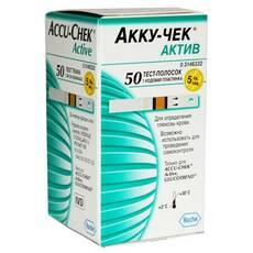 Тест-полоски Accu - Chek Aktive Glucose, 50 шт.