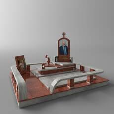 Есклюзивний памятник з лізника та viscont white