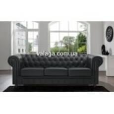 Кожаный комплект мебели CHESTERFIELD 3+1+1