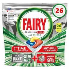 Капсули для посудомийки Fairy platinum plus 26 Бельгія