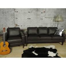 Кожаный комплект мебели FLINT 3+1+1