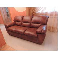 Кожаный комплект мебели TINA 3+1+1