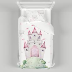Детское постельное белье 150х200 см с авторским рисунком Принцессы