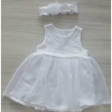 Сукня пов'язка ТМ Happy ToT 62, Білий