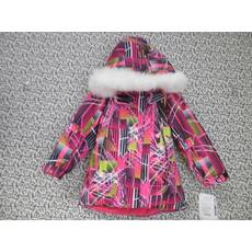 Термо куртка зима ТМ Garden Baby 128, Малиновый