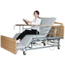 Медична електро ліжко з туалетом MIRID Е04 (електропривод cовременный дизайн)