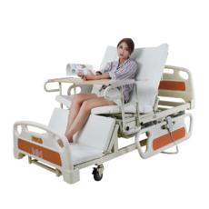 Медична функціональна електро ліжко з туалетом MIRID E39 (великий розмір довжини)