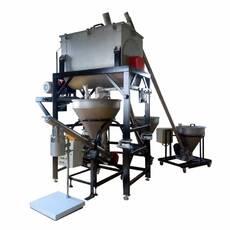 Комплекс для взвешивания компонентов, смешивания и дозирования в готовую тару