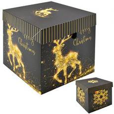 Коробка подарункова новорічна 10 см