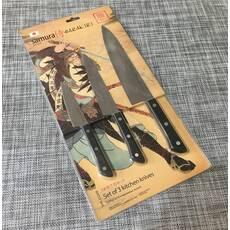 Набор кухонных ножей Samura 3шт / ВК-30