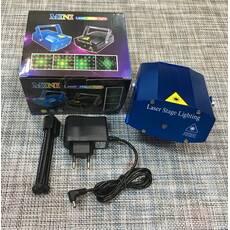 Лазерний проектор Mini Laser stage lighting / 2233