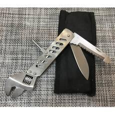 Мультитул / нож + ключ розвідний / FH-4101