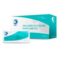 Быстрый (экспресс) тест для диагностики коронавируса COVID-19 Cellex Ink (США)