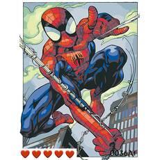 STK Картина по номерах Спайдермен (Людина-павук), кольорове полотно   лак, 40*50 см, без коробки Barvi