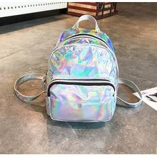 STK Голограммный рюкзак серебро