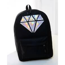 STK Городской рюкзак с кристаллом черный