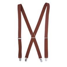 Женские подтяжки Braces крестовые темно коричневый  (BR109876)