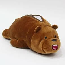 STK Пенал коричневий Ведмідь