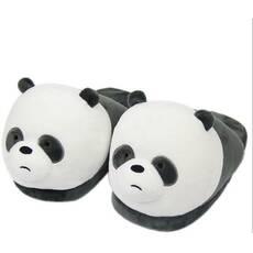 STK Тапочки-игрушки Панда открытая