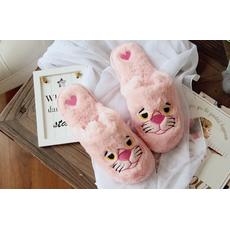 STK Тапочки Рожева пантера закриті, 37-38, устілка 24.5 см