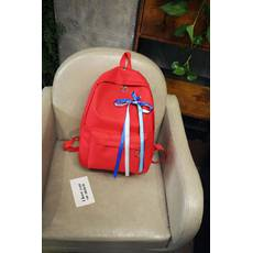 STK Рюкзак із стрічками червоний