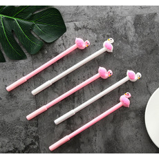 STK Ручка гелевая Фламинго розовая