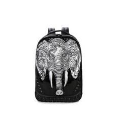 STK Чорний рюкзак Слон