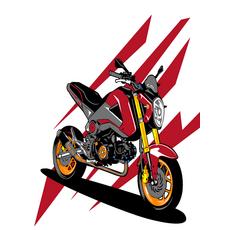 """STK Картина по номерах """"Мотоцикл"""" для дітей в коробці, 30*40 см"""