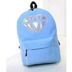 STK Міський рюкзак з кристалом блакитний