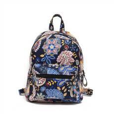 STK Черный объемный рюкзак Узоры