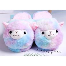 STK Тапочки-іграшки Лами веселкові, розмір 35-38