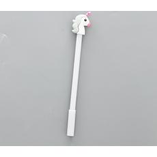 STK Ручка гелевая Единорог серый