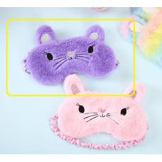 STK Маска для сна Мышка фиолетовый