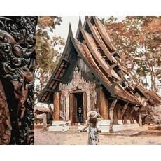 STK Картина по номерам Бали  без коробки, Никитошка, 40*50 см