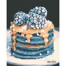 STK Картина по номерах Сніданок, кольорове полотно, 40*50 см, без коробки Barvi