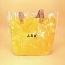 STK Силиконовая сумка среднего размера желтая