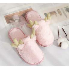 STK Тапочки Олені маломерят рожеві (36-37) підходять на 34-35