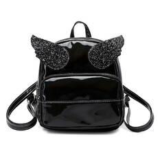 STK Голограммный рюкзак с крыльями черный