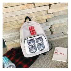 STK Рюкзак с котиками на кармане