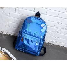 STK Рюкзак голографічний середнього розміру синій
