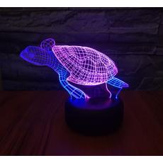 STK Ночник 3д двухцветный. Черепаха