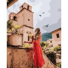 STK Картина по номерам Лето, Италия  без коробки, Никитошка, 40*50 см