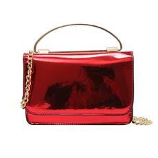 STK Элегантная красная лаковая сумка