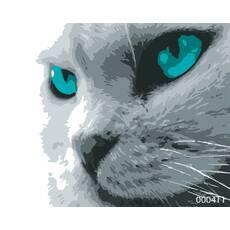 STK Картина по номерах Кіт, кольорове полотно, 40*50 см, без коробки Barvi