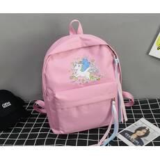 STK Рюкзак с единорогом розовый